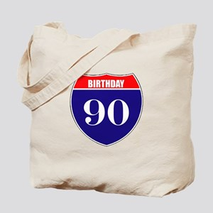 90th Birthday! Tote Bag