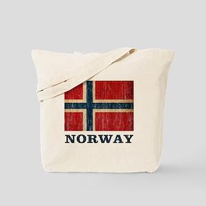Vintage Norway Tote Bag