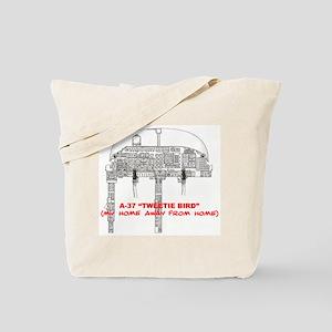 A-37 TWEETIEBIRD Tote Bag
