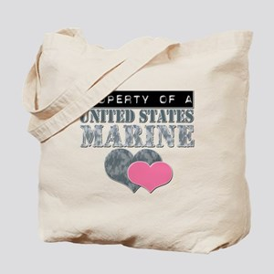 Property of a US Marine Tote Bag
