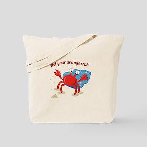 Average Crab Tote Bag