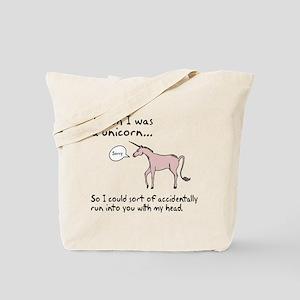 Unicorn Accident Tote Bag