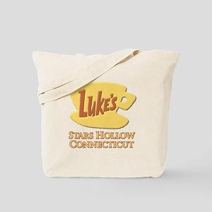 Luke's Diner Stars Hollow Gilmore Girls Tote Bag