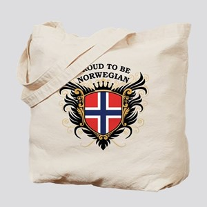 Proud to be Norwegian Tote Bag