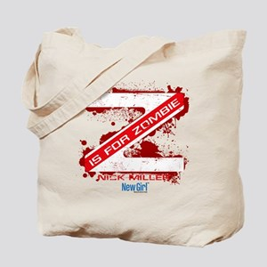 New Girl Zombie Tote Bag