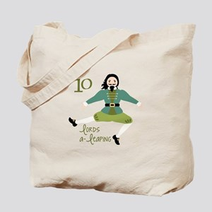 10 loRDS a- leaPiNG Tote Bag