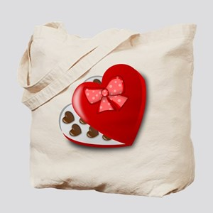 Candy For My Valentine Tote Bag