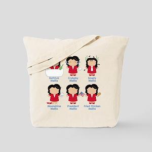Scandal Many Sides Of Mellie Tote Bag