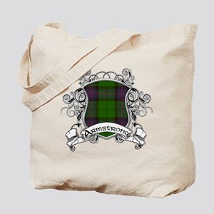 Armstrong Tartan Shield Tote Bag