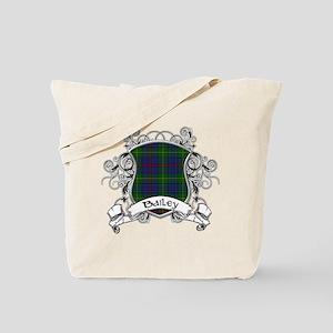 Bailey Tartan Shield Tote Bag