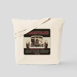 Woodward Hot Rod Shop Tote Bag