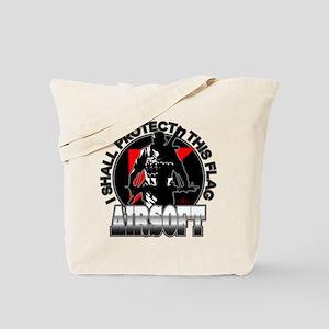 Protect Flag Airsoft Tote Bag