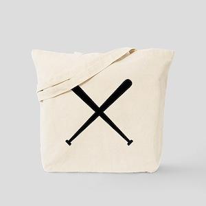 Baseball Bats Tote Bag