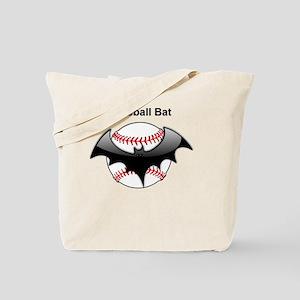 Halloween Baseball bat Tote Bag