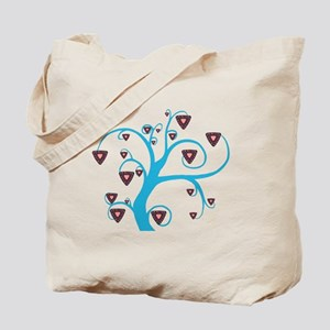 Triangle Tree Tote Bag