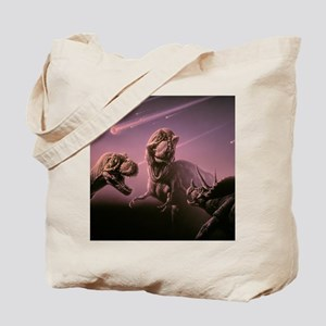 Death of dinosaurs Tote Bag