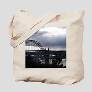 Yaquina Bay Bridge Tote Bag