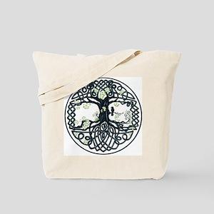Celtic Tree Knot Tote Bag