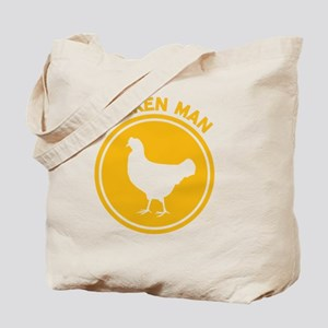 Chicken Man Tote Bag