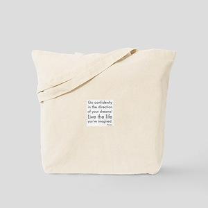 Go Confidently Tote Bag