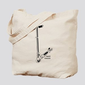 Rapid Transit - the dirt is f Tote Bag