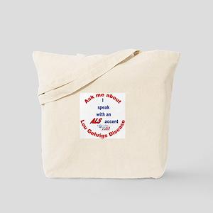 ALS Accent Tote Bag