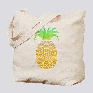 Colorful Pineapple Tote Bag
