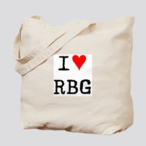 i love rbg Tote Bag