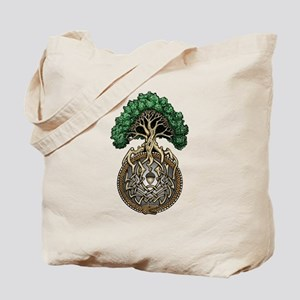 Ouroboros Tree Tote Bag