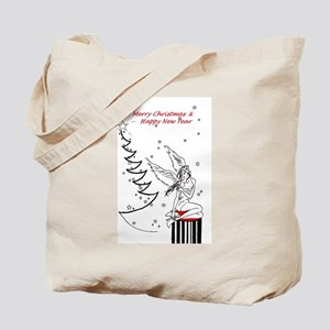 Merry Christmas & Happy New Year Tote Bag
