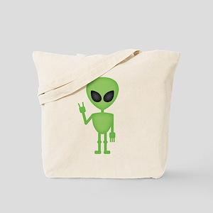 Aliens Rock Tote Bag