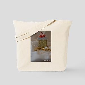Vertical Bells and Present Tote Bag
