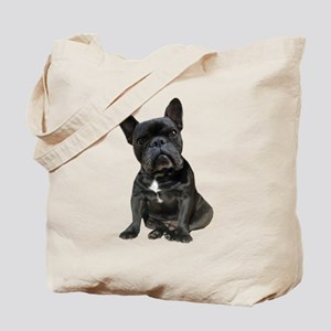 French Bulldog Puppy Portrait Tote Bag