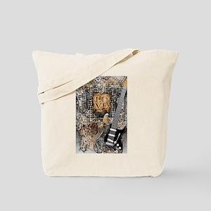 Guitar Love Guitarist Music Design Tote Bag