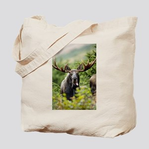 Mr Moose Sticking Tongue Out Tote Bag