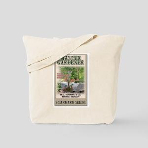 Master Gardener seed packet Tote Bag