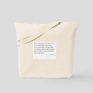 Subversive Librarian Tote Bag