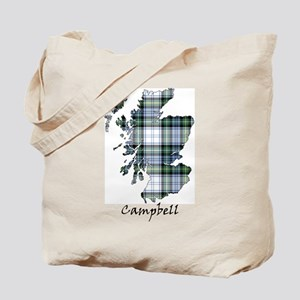 Map-Campbell dress Tote Bag