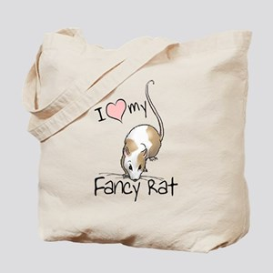 I Love My Fancy Rat Tote Bag