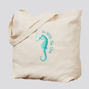 Go With The Flow Tote Bag