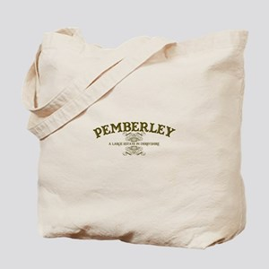 Pemberley A Large Estate In Derbyshire Tote Bag
