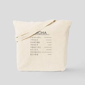 Iroha: Japanese famous poem Tote Bag
