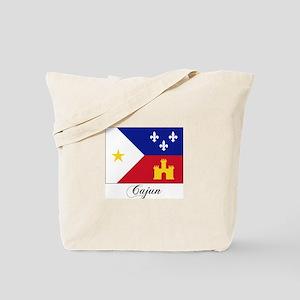 Cajun Flag Tote Bag