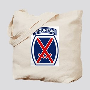 10th Mountain Division Tote Bag