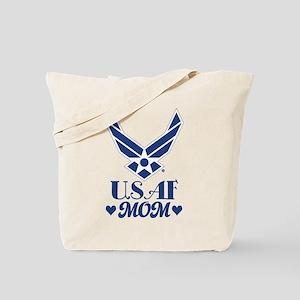 Air Force USAF Mom Tote Bag