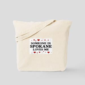 Loves Me in Spokane Tote Bag