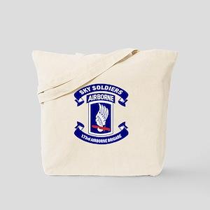 Offical 173rd Brigade Logo Tote Bag