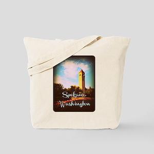 Spokane, Washington Tote Bag