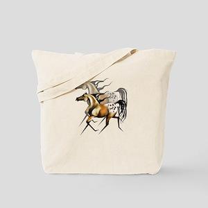 Running Appy Shadowed Tote Bag
