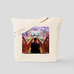 Frank in Wonderland Tote Bag